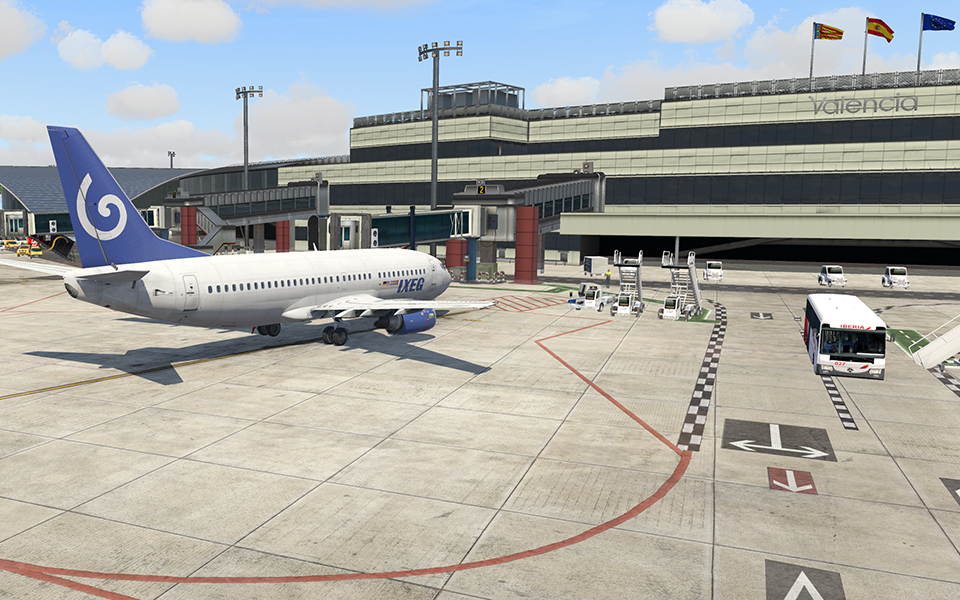 Icarus Simulations: Valencia Airport - LEVC