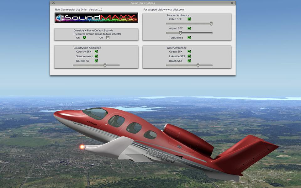 SoundMaxx, X-Aviation