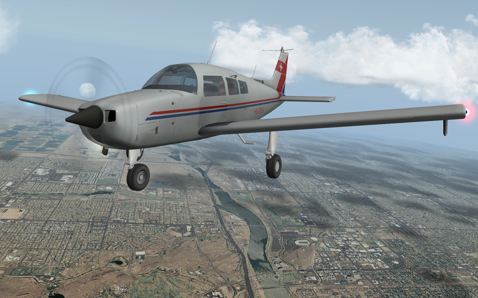 Beechcraft Sundowner C23, X-Aviation